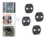 4PCS Car Door Striker Cover Lock Protector Antirust for Nissan Tiida/Versa 2006 2007 2008 2009 2010 2011 2012 2013 - CA01420