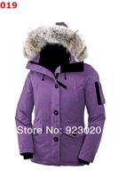 Kanada gas women Monte&bello HOT sell keep warm jackets women winter down short coat Down & Parkas cold-proof coat Down jacket