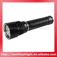 3000 Lumens 3 x Cree XM-L T6 LED Stepless Dimming Diving Flashlight (2 x 26650)
