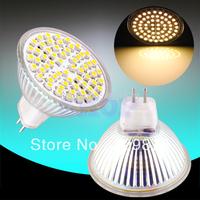 12pcs MR16 GU5.3 Warm White 60 SMD 12V Spotlight 60 LED Spot Light Bulb Lamp