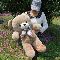 Free Shipping Sallei toy plush toy bear doll birthday gift female doll Large