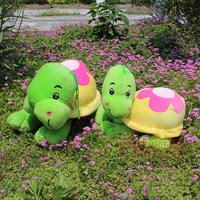 Free Shipping Sallei toy tortoise plush toy doll turtle dolls birthday gift