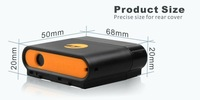 Waterproof /long battery life GPS  tracker TK108/for vehicle real time platform sofware tracking system + Free Shipping