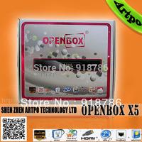 openbox x5 satellite receiver hd pvr set top box shenzhen dvb free shipping via China Post
