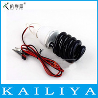 2pcs 12V 15W ultraviolet germicidal UV disinfection lamp black light trap and insect killing lamp