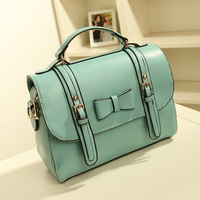 2013 women's summer handbag candy color jelly bag bow bag handbag fashion