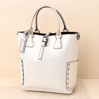 Bags women's handbag fashion 2013 crocodile pattern paillette casual bag bucket bag messenger bag fashion bag