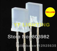 15-20mA Yellow 2mm*5mm*7mm rectangle led white diffused 2.0-2.5V 585-595nm