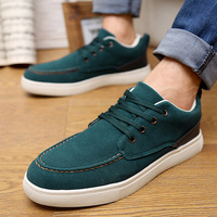 3 Colors ! Free Shipping 2014 Newest Quality PU Lace UP Confortable Fashion Canvas Shoes for Men