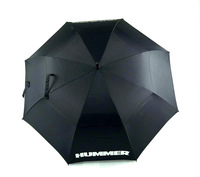 double layer windproof umbrella, oversized fully-automatic golf umbrella, commercial umbrella