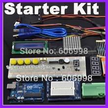 22 lessons Starter Kit for Arduino Step Motor Servo 1602 LCD Breadboard jumper Wire UNO R3