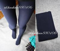 Dark blue velvet hyper Dark Blue black pantyhose meat thickening stockings