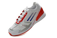Free shipping men's Tennis shoes solomon sports running Badminton shoes mens feather II G62883 with logo 36-45