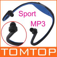 Sport MP3 Headset WMA Music Player TF/ Micro SD Card Slot Wireless Headphone Earphone(China (Mainland))