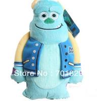 Free Shipping Monsters Inc Mike Wazowski toy coin purse, Monsters University Mike Wazowskidoll plush toy 4 pcs/lot