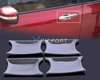 Free shipping & Tracking # New Chrome Door Handle Cup Bowl forHonda City  2009 2010 2011 2012 201 - CA00548