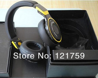 Dropship China post free shipping high quality black yellow pro Headphone on-ear headphone with noise cancelling