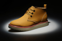 Free Shipping!2014 men's Sneakers shoes,8010 genuine leather plush High help walking boots Casual hiking shoes eur38-46
