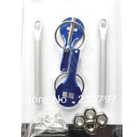Universal Blue Racing Car Alloy Bonnet Hood Pin Lock Kit Down Hood Locks Pins
