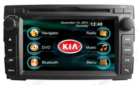 2 din dual dvd player car stereo car multimedia headunit special for Kia Ceed