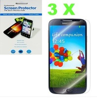 3X Clear LCD Screen Protector Skin film for Samsung Galaxy S4 SIV I9500 free shipping