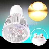 5pcs GU10 Warm White 4x3W PAR20 85-265V Spotlight 220V 110V Home LED Light Bulb Lamp