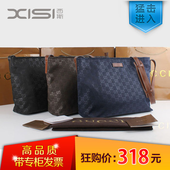 2013 man bag women's handbag male messenger bag men's nylon bag 308840