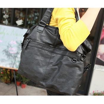 Man bag fashion multi-purpose men's casual bag shoulder bag messenger bag personality male cross-body backpack