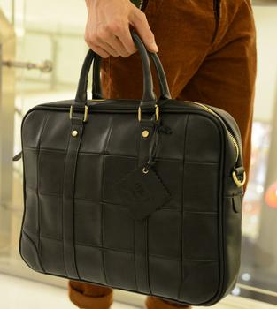 Block plaid man bag personality 2012 messenger bag handbag casual fashion personality laptop bag
