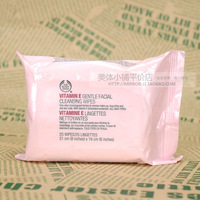 The body shop body shop vitamin e rejuvenation cleansing towel ve anti oxidation mild cleansing towel