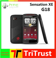 4.3''TouchScreen G18  Sensation XE Z715E Original Unlocked Cell Phone 8MP WIFI GPS Beats Audio earphone And Free Shipping