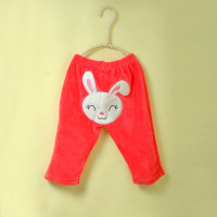 new 2013 children's clothing velvet cartoon style pants big ass infant  pants baby trousers boys & girls pants Free shipping
