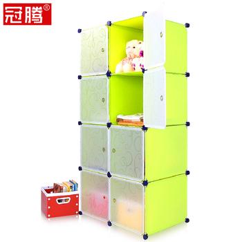 8 diy single combination simple wardrobe child baby wardrobe storage cabinet