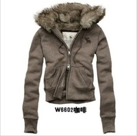 2013 New Fashion Women's thicken hoodies Swearts coat jackets  3Colors Size S,M,L,XL