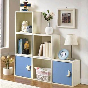 Cabinet bookcase bookshelf cabinet storage cabinet child cabinet single bookcase