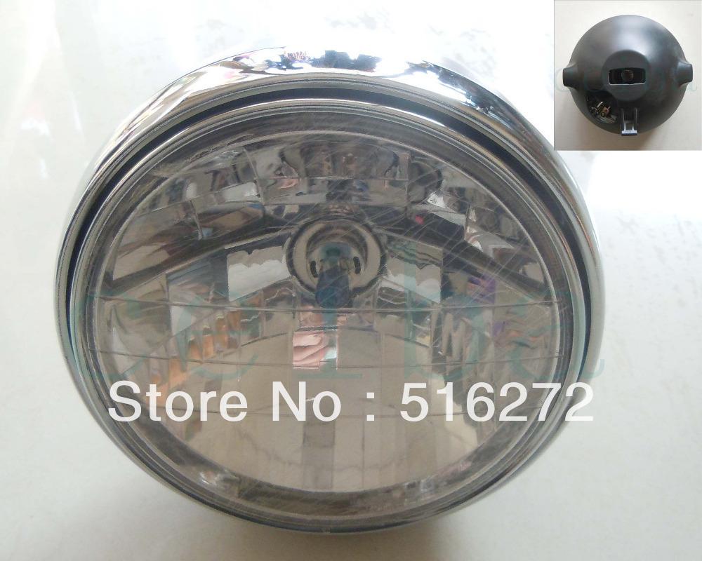 1pcs Free Shipping Clear Headlight Assembly House for Honda CB400 CB500 CB1300 Hornet 250 600 900(China (Mainland))