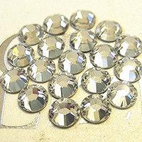 1440pcs SS6 2mm  Crystal Clear Nail  Rhinestones for Nails Non Hotfix Flatback Rhinestone Nail Art Decoration Wholesale
