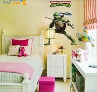 Hot Sale  HOT Giant DONATELL Teenage Mutant Ninja Turtles Wall Sticker Decors Kids Decals