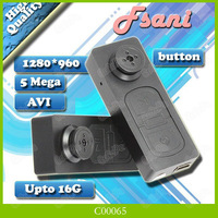 Mini Button DV 720*480P Camera Video Recorder Camcorder Webcam Function Dvr Video Camera