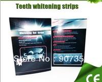 Teeth Whitening Gel Strips,6% Hydrogen Peroxide Tooth Whitening Strip Mint Flavor 14pcs/packs Free Shipping 50packs/lot