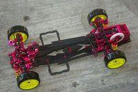Carbon CNC aluminium CS 1:10 drift Racing DGCS option RC Car SAKURA D3 3R Frame