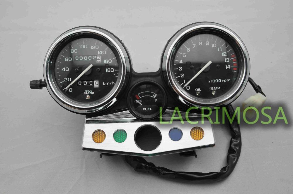 Tachymètre compteur de vitesse moto pour honda speedo d'horloge. instrument cb400 1995-1998