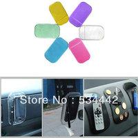 Powerful Silica Gel Magic Sticky Pad Anti Slip Non Slip Mat for Phone PDA mp3 mp4 Car Anti slip Pad essories Multicolor 100pcs