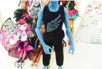 Free shipping Genuine the Monster High clothing - Holt Hyde /monster high dolls parts /gifts for children