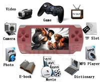 2013 Newest 4.3 inch TFT screen 8GB multi-media handheld MP5 game player built-in 3000 popular games
