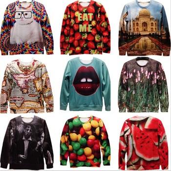 [Amy]Free Shipping Sale!!New Fashion 2014 Women/Men Space Galaxy Sweatshirts Funny Panda 3d sweaters hoodies Top S/M/L/XL