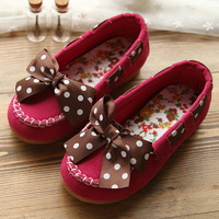 Girls shoes 2013 New baby girl princess single shoes leather girls shoes cow muscle outsole dance shoes