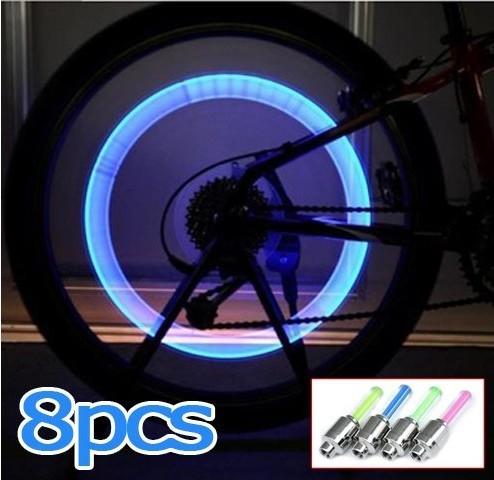 8PCS Bike Bicycle Cycling Car Tyre Whee