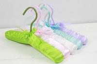 wholesale 20pcs/lot Child package cloth hanger kids 'clothing hanger baby multicolour package cloth rack