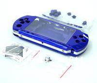 Free Shipping new  Blue Full Housing Shell Case Faceplate For PSP1000 psp 1000 Fat